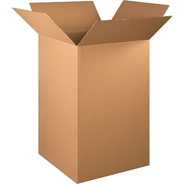 22in.(L) x 22in.(W) x 36in.(H) - Staples® Corrugated Shipping Boxes