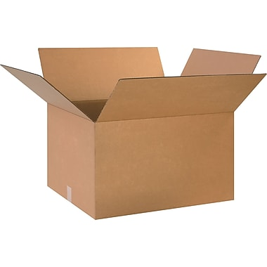 24in.(L) x 20in.(W) x 14in.(H) - Staples® Corrugated Shipping Boxes
