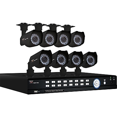 Night Owl 16BL-81TB: 16 Channel H.264 Complete Video Security Kit