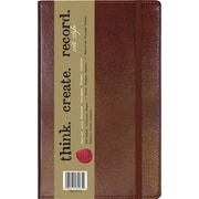 "C.R. Gibson Genuine European Bonded Leather Journals, 5-1/4"" x 8"""