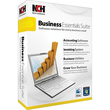 Business Essentials Suite for Mac and Windows [Boxed]
