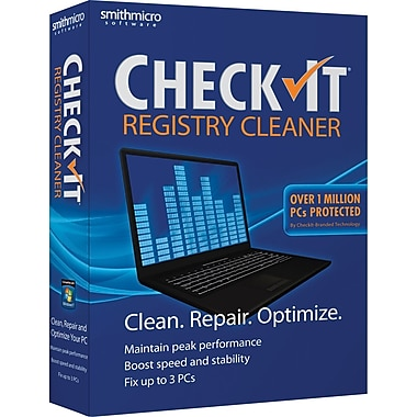 CheckIt Registry Cleaner [Boxed]
