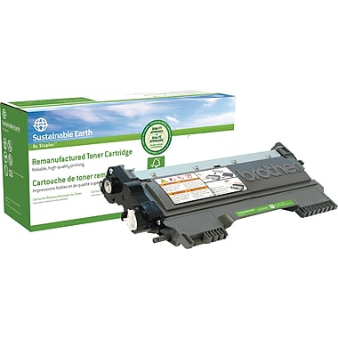 Sustainable Earth by Staples® Remanufactured Black Toner Cartridge, Brother TN-450, High Yield