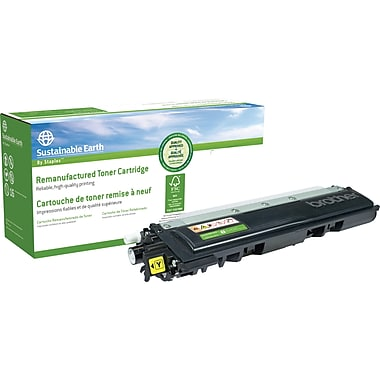 Staples™ Remanufactured Yellow Toner Cartridge, Brother TN-210Y