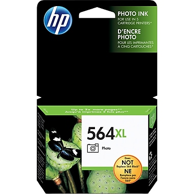 HP 564XL Photo High Yield Original Ink Cartridge (CB322WN)