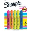 Sharpie Accent Tank Style Highlighter, Chisel Tip, Assorted, 5/Pack