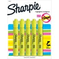 Sharpie® Accent® Highlighters, Chisel Tip, Fluorescent Yellow, 5/Pack