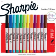 Sharpie® Ultra Fine Point Permanent Markers, Assorted, Dozen