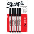 Sharpie® Ultra Fine Point Permanent Markers, Black, 5/Pack
