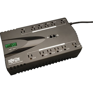 Tripp Lite ECO 850VA 12-Outlet Power-Saving UPS