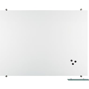 Best-Rite Visionary Magnetic Glass Board, 4' x 3'