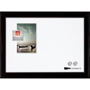 "Quartet® Home decor Magnetic Dry-Erase Board, 17"" x 23"", Ebony Frame (79282)"