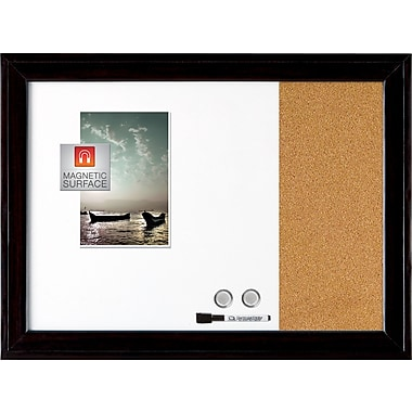 Quartet 17in. x  23in.  Combo Board with Black Frame