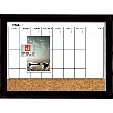 Quartet® 23in. x  35in. Home Decor 3-in1 Combo Dry Erase Board
