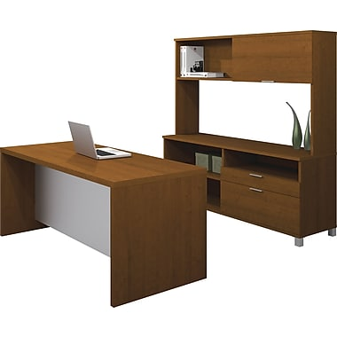 Bestar Pro-Linea Executive Kit, Cognac Cherry