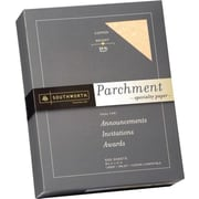 SOUTHWORTH® Parchment Specialty Paper, 8 1/2 x 11, 24 lb., Parchment Finish, Copper, 500/Box