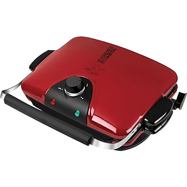 George Foreman® G4 Grill, Red