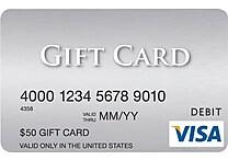 $50 Visa® Gift Card
