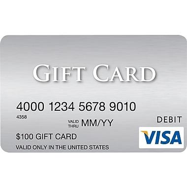 Visa® $100 Gift Card