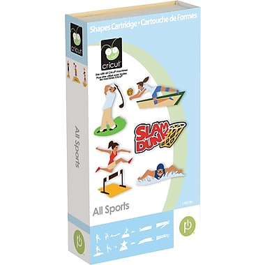 Cricut® All Sports Cartridge