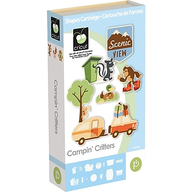 Cricut® Campin' Critters Cartridge