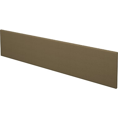 Bestar Pro Concept Collection Tack Board, Milk Chocolate & Black