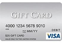 Visa® $25 Gift Card