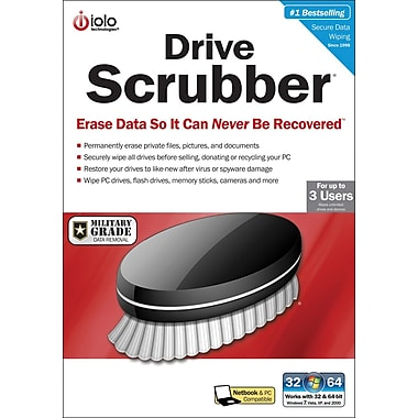 iolo Drive Scrubber (3-User) [Boxed CD]