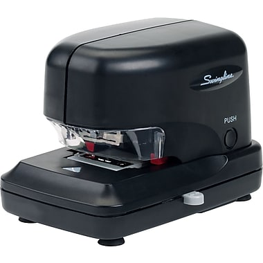Swingline® Cartridge Electric Stapler, Fastening Capacity 30 Sheets/20 lb., Black