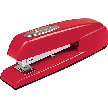 Swingline® 747 Contour Business Professional Stapler, Red, 20-Sheet Capacity