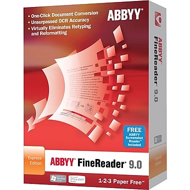 ABBYY FineReader 9 Express for Windows [Boxed]
