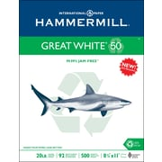 "HammerMill® Great White Recycled Copy Paper 8 1/2"" x 11"", 500/Ream"