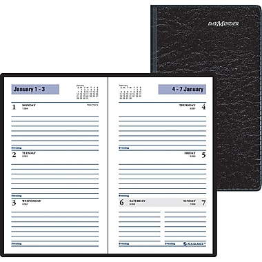 "2014 DayMinder® Weekly Planner, 3 1/2"" x 6 3/16"""