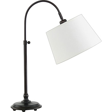 Fangio Incandescent/CFL Adjustable Metal Table Lamp, Oil Rubbed Bronze