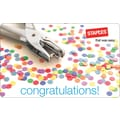 Staples® Congratulations Gift Card, $25