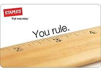 Staples® Ruler Gift Cards