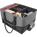 AutoExec® File Tote Grey with Black