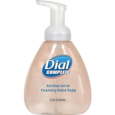 Dial® Complete Antibacterial Foaming Hand Wash, 15.2 oz.