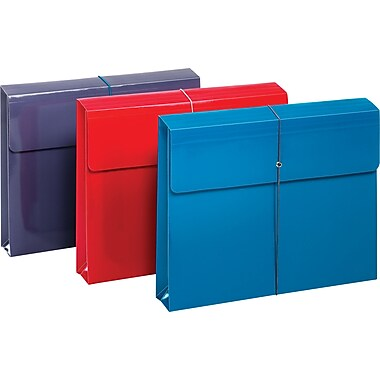 Globe-Weis Expandable Pocket File, Letter Size