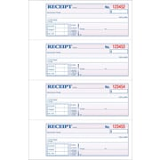 "Adams® Carbonless General Purpose Receipt Books, 11"" x 7-3/8"", 2 Part"