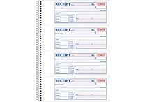 Adams® Carbonless Money/Rent Receipt Books, 7-5/8' x 11', 2 Part, 200 Sets/Book (SC1182)