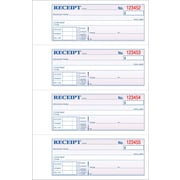 Adams® Carbonless Money/Rent Receipt Books, 7-5/8 x 11, 3 Part