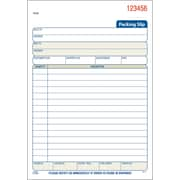 Adams® Carbonless Packing Slip Book, 3 Part