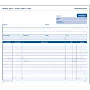 Adams® Carbonless Invoices, 8-1/2 x 7-7/16, 2 Part