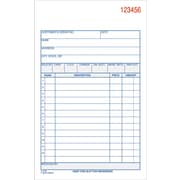"Adams® Carbonless Sales Order Form Books, 4-3/16"" x 7-3/16"", 3 Part, 10/Pack (TC470510)"