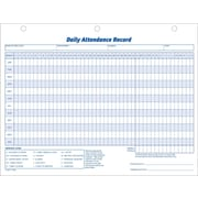 "Adams® Daily Attendance Records, 11"" x 8-1/2"""