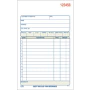 "Adams® Carbonless Sales Order Form Book, 4-3/16"" x 7-3/16"", Two-Part, 3/Pack (DC4705-3)"