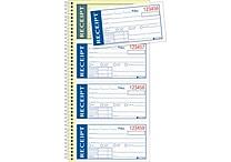 Adams® Write & Stick® Receipt Book, 5-1/4' x 11', 2 Part