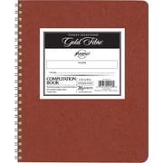 "Ampad Computation Book with Red Cover, 12"" x 9 1/2"", Quadrille Ruled, 76 Sheets/Pad"