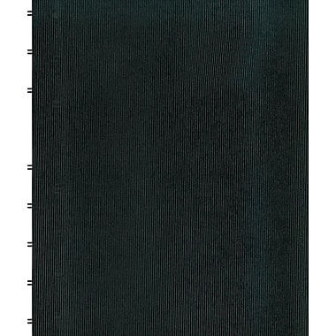 Blueline MiracleBind Business Notebook,Black Hard Cover, Pages Can Be Repositioned, 150 Pages / 75 Sheets, 11